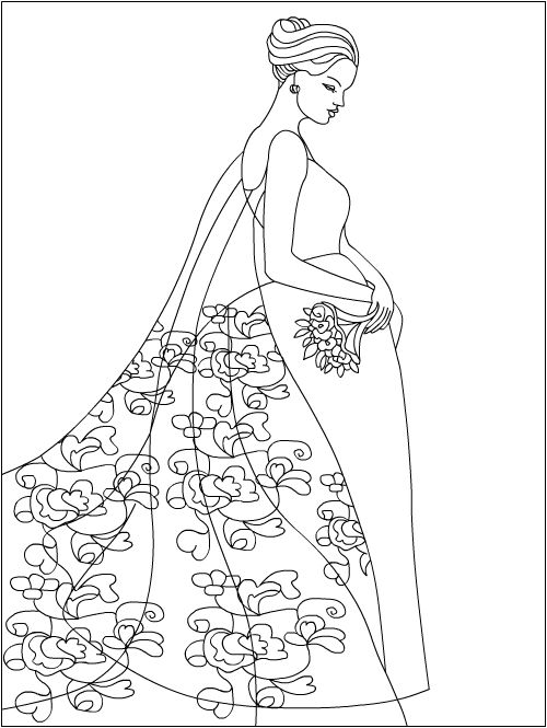 Nicole\'s Free Coloring Pages: Fashion * coloring pages | Раскраски ...