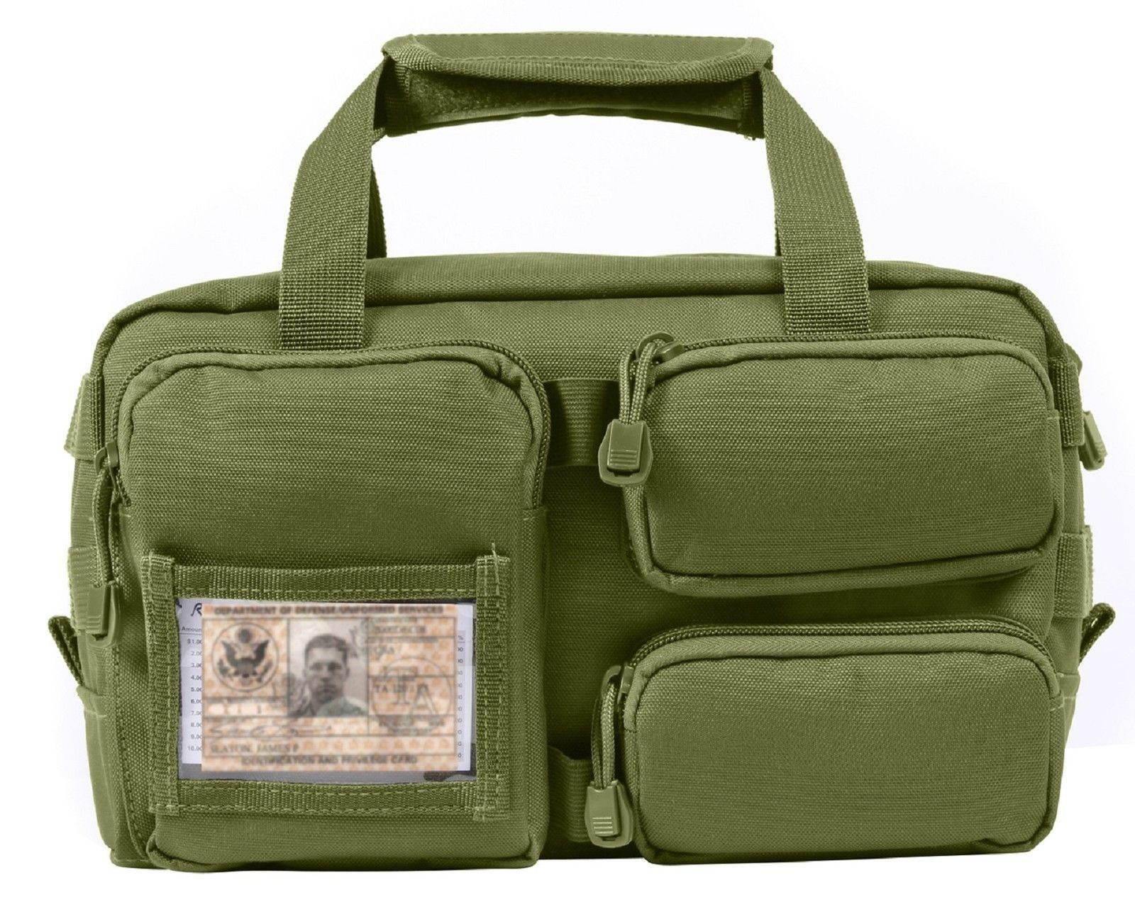 Tactical Molle Tool Bag Rothco Utility Id Holder Bags W Removable Compartment