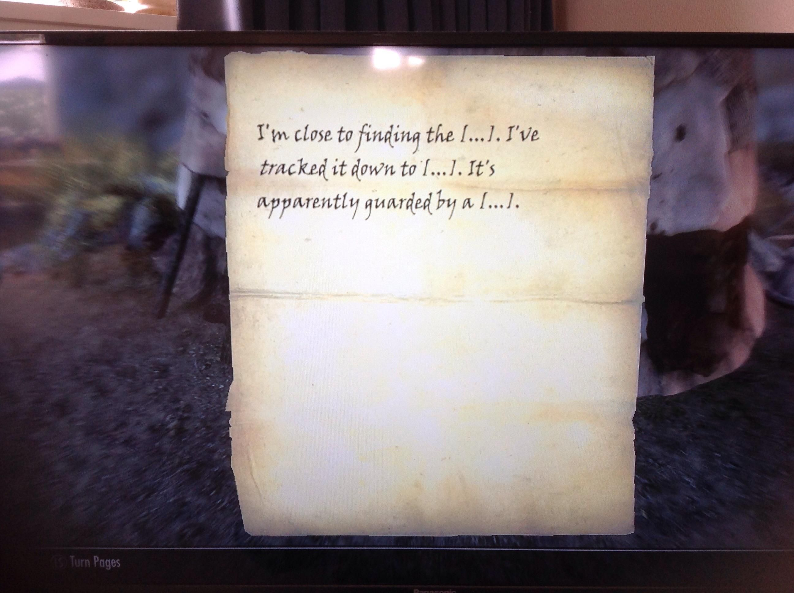 Well this is not very helpful #games #Skyrim #elderscrolls #BE3 #gaming #videogames #Concours #NGC
