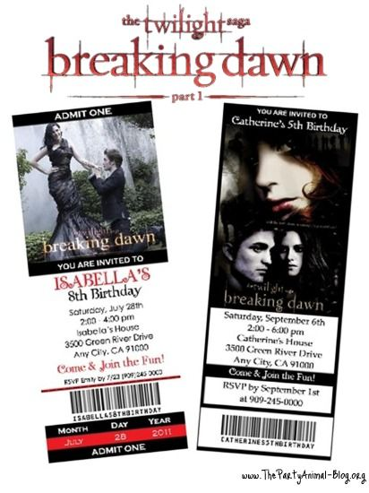 Breaking Dawn Part 2 tickets go on sale October 1, 2012!
