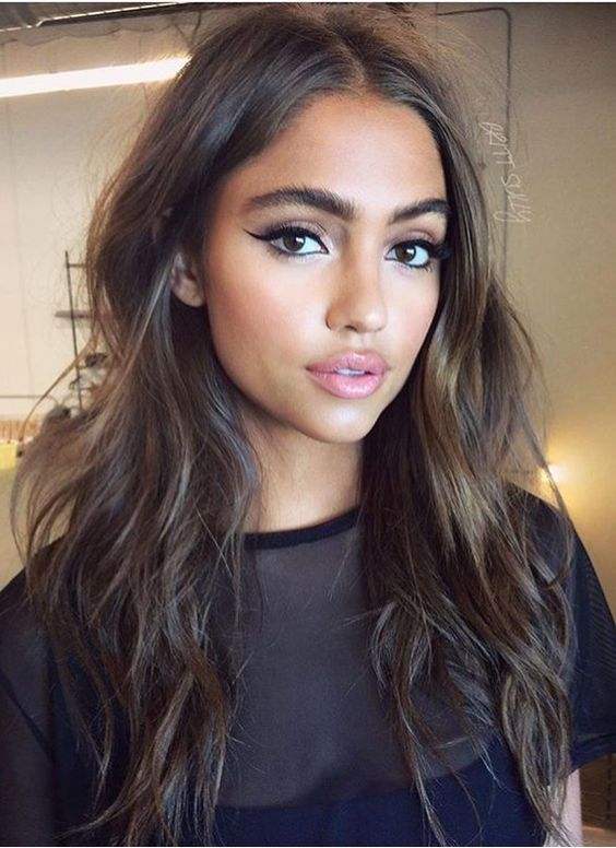 35 Simple Everyday Makeup Looks For Any Season Daily Makeup Easy Everyday Makeup Looks Natural Makeup Looks Hair Makeup Hair Styles Hairstyle
