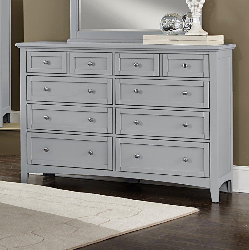 Gastelum 8 Drawer Double Dresser Home Dresser Double Dresser