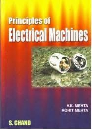 Principles of Electrical Machines by V K Mehta | ENGINEERING