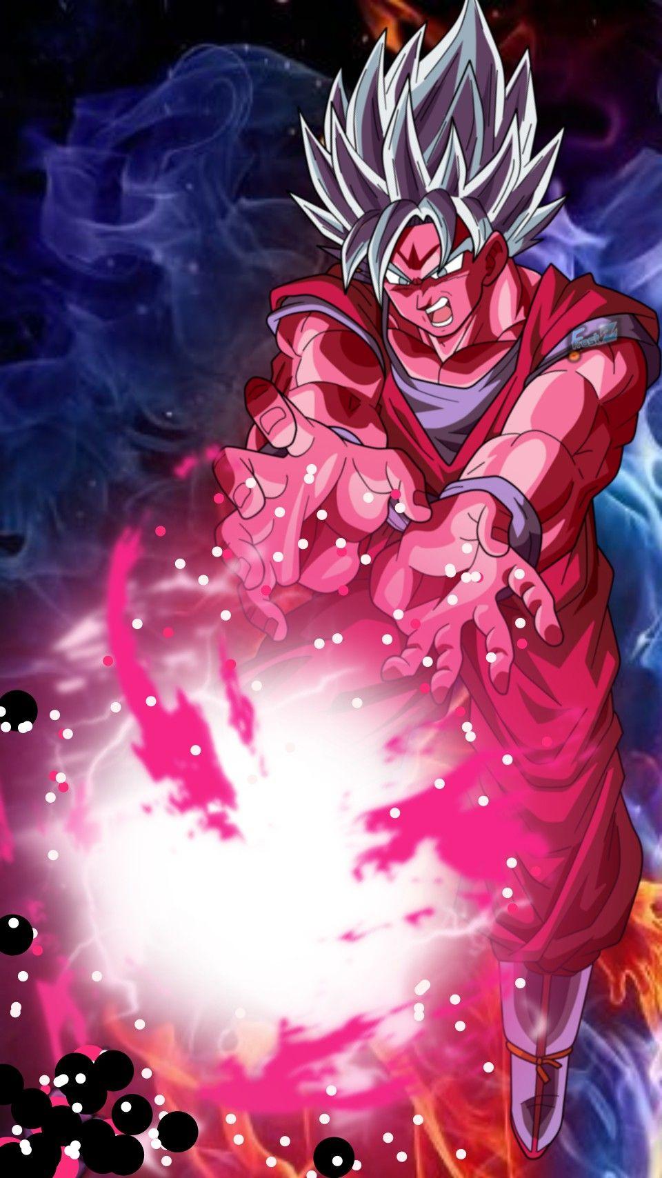 Time For Powerup Goku Ssjblue Kaioken Anime Dragon Ball Super Dragon Ball Goku Dragon Ball