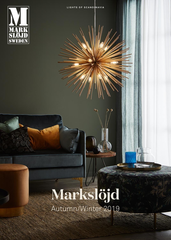 Markslöjd Autumn 2019 Ceiling pendant lights, Gold