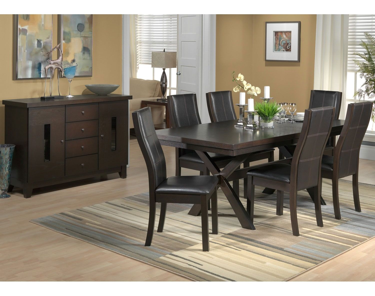 Dining Room Furniture Urban Splendor 7 Pc Package Ideas For The House Pinterest Sets And Set