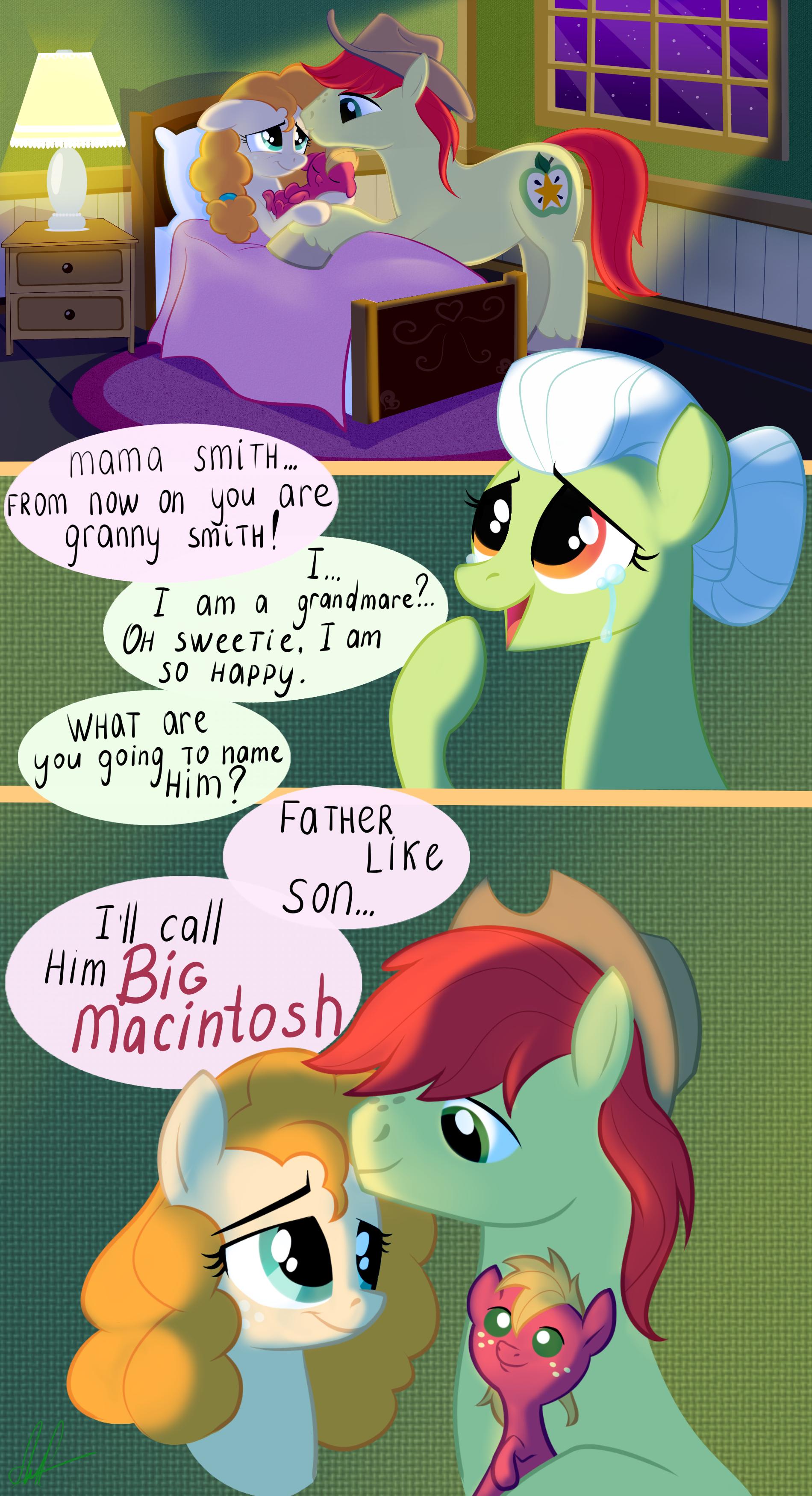 AppleJack's parents Chapter 1, a my little pony fanfic