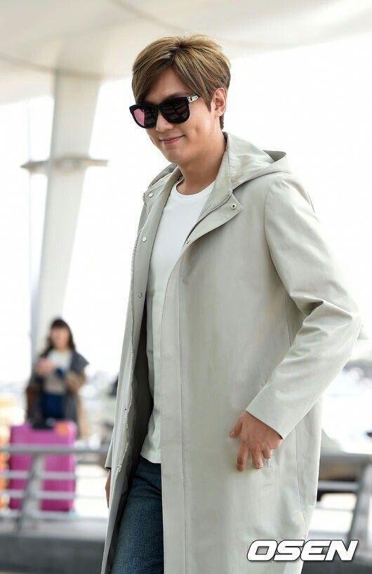 150320 Lee Min Ho at Incheon to Hong Kong