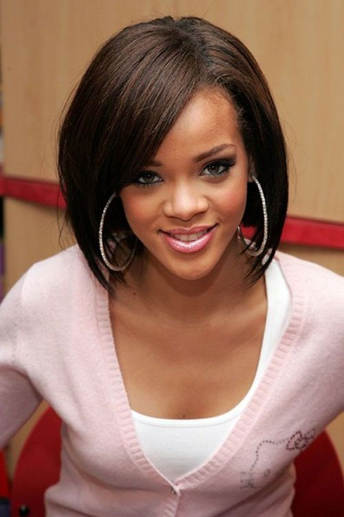 Hairstyles For Black Women With Oval Faces Medium Hair Styles