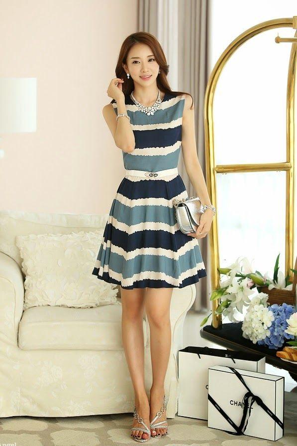 7a95b9558 vestidos moda coreana juvenil Ropa De Adolecentes