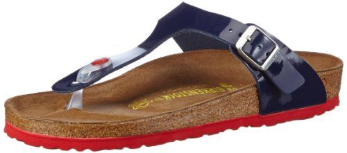 BIRKENSTOCK Gizeh Womens Dress blue BirkoFlor Thongs 39 EU 885 R US Women     Be sure to check out this awesome product.(This is an Amazon affiliate  link and ... 8cad4f8ad1