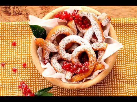 Graffe (nápolyi farsangi fánk) - glutenfreies Faschingsrezept - Schär