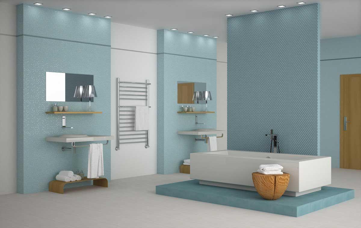 Azulejos ba o pinterest spas for Sonar con cuarto de bano