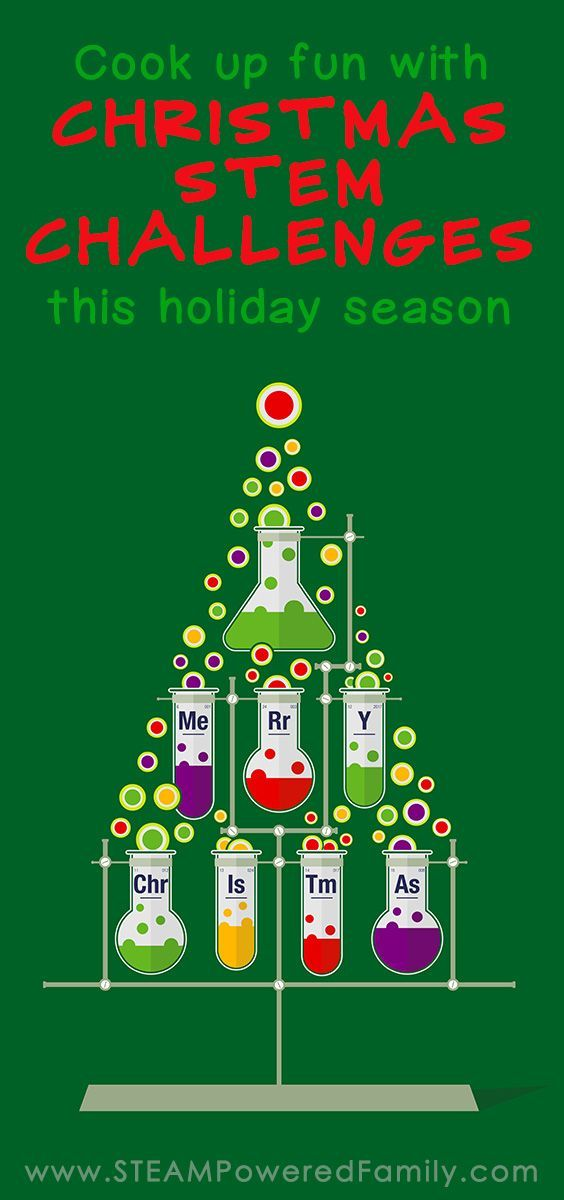 Christmas Stem Challenges.Cook Up Fun This Holiday Season With These Christmas Stem