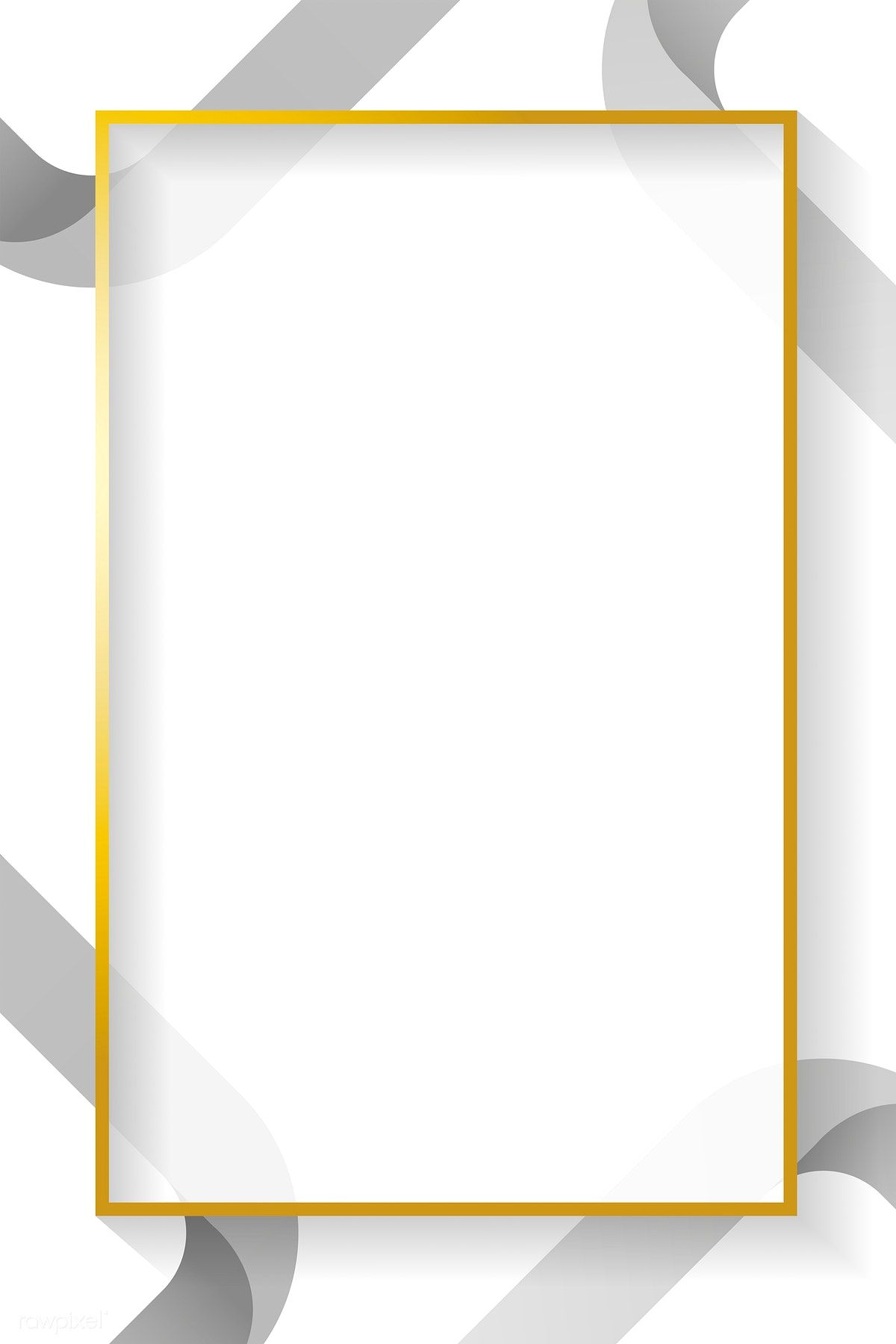 Download Premium Vector Of Blank Rectangle Abstract Frame Vector 1209573 Geometric Poster Design Powerpoint Background Design Poster Background Design