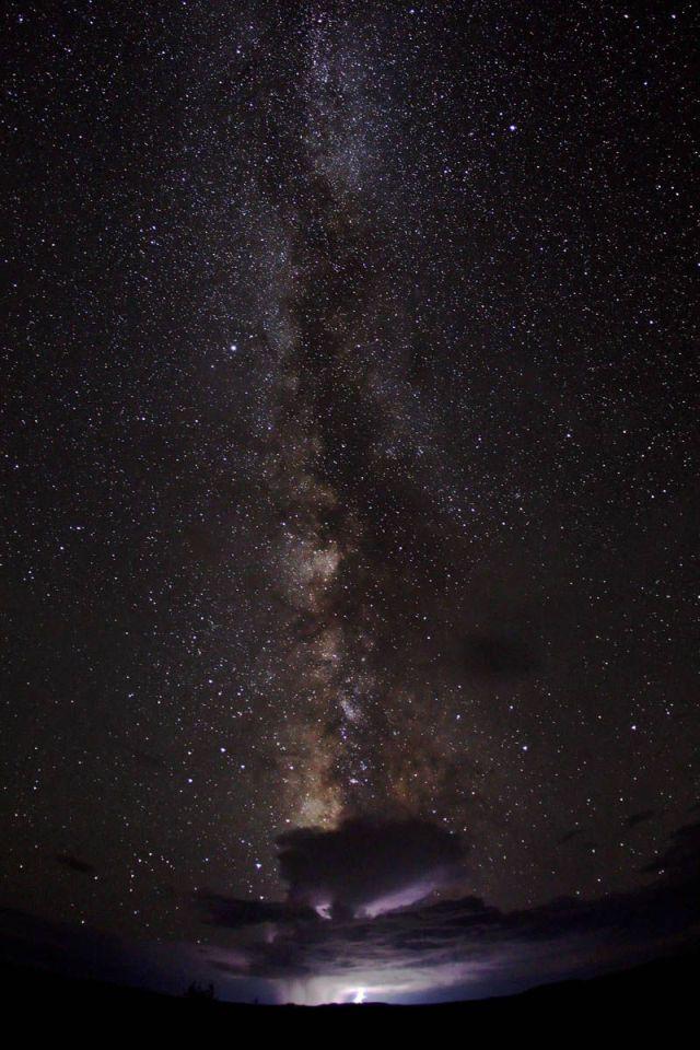 Galactic monsoon