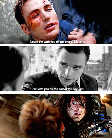 I'm With You 'Till The End Of The Line | Marvel movies, Avengers quotes, Marvel