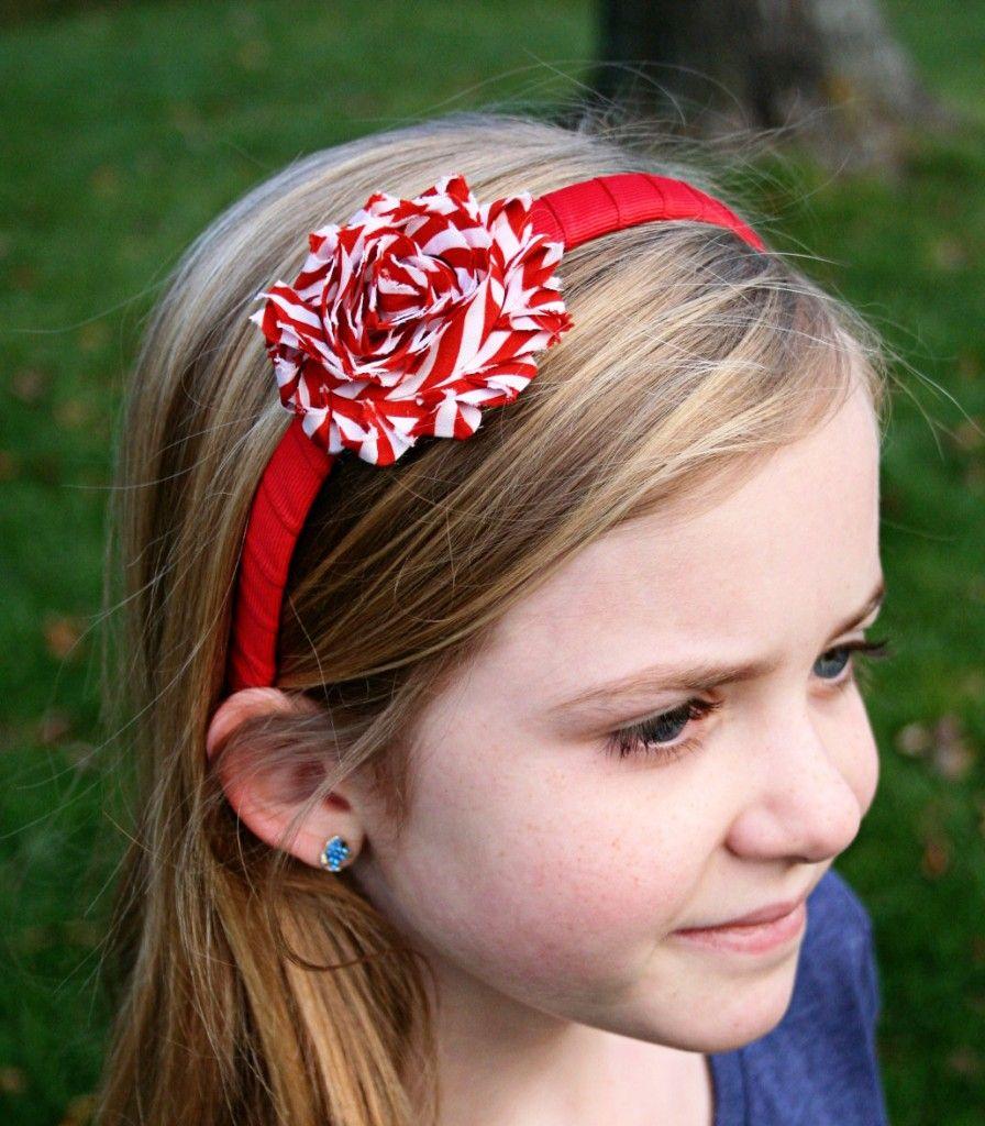 candy cane headband the bowtique