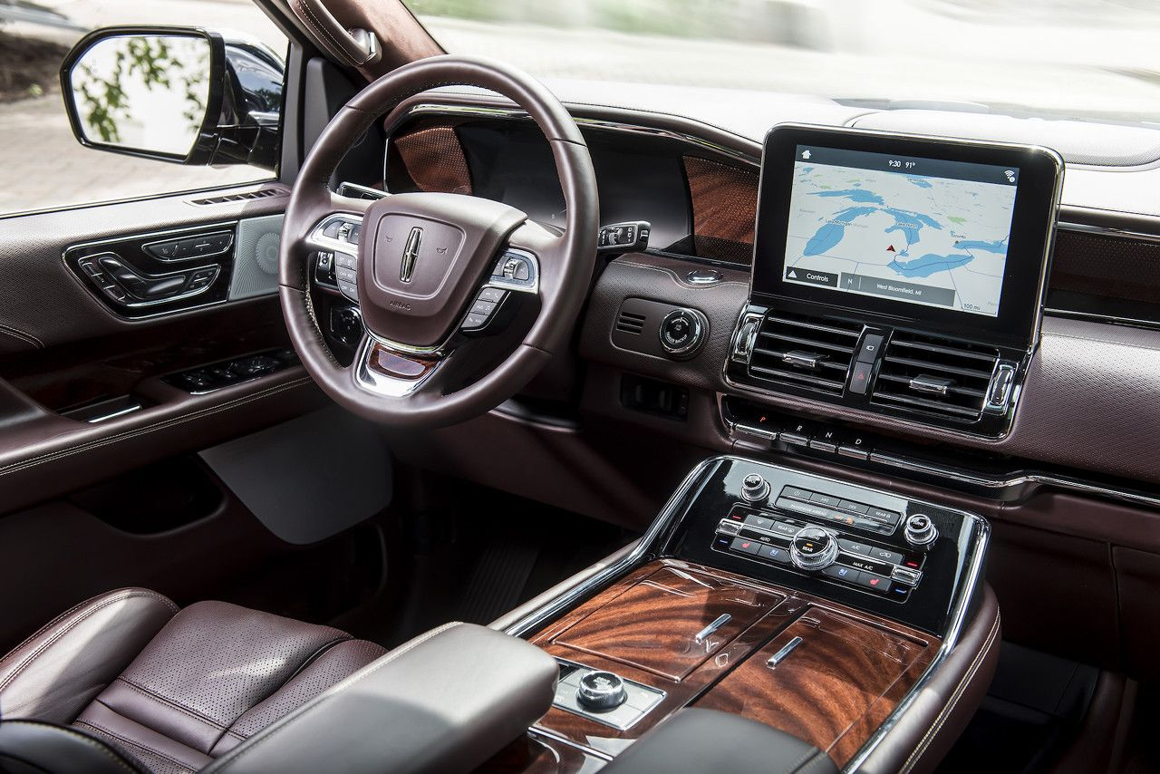 2018 Lincoln Navigator Black Label Car Interiors Lincoln