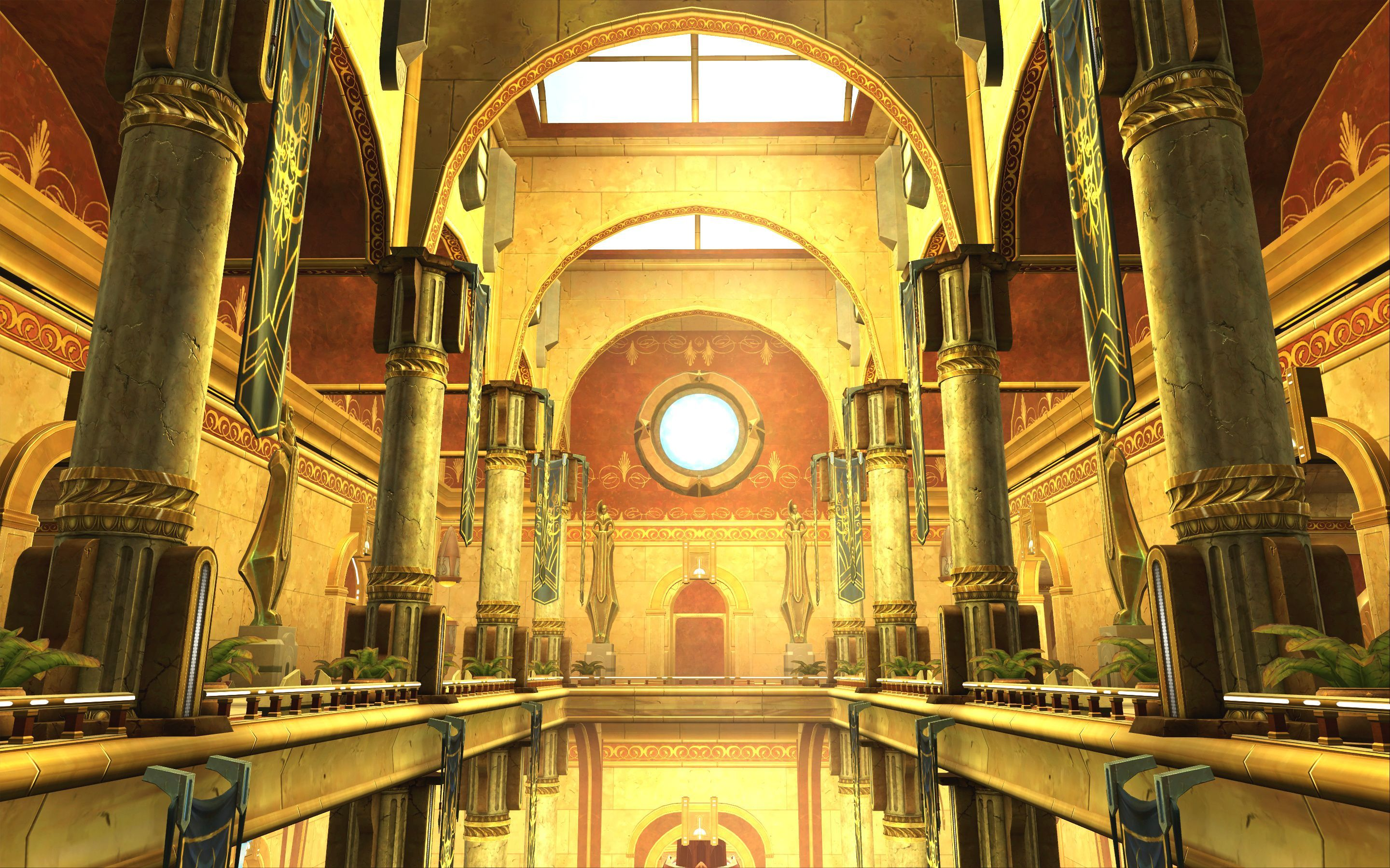 Inside the Senate Tower on Coruscant. The heart of ...