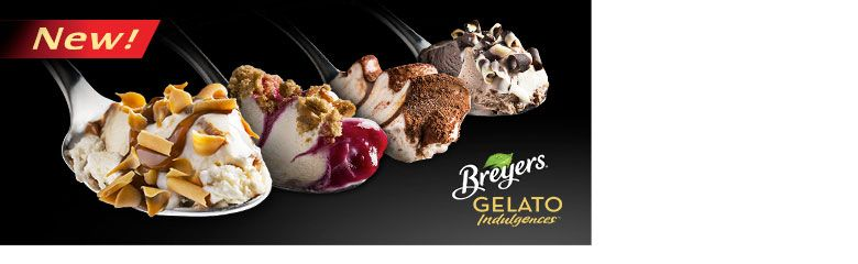 Gelato Indulgences {Breyers} - I'm looking forward to trying this out! Now which one to choose... #GelatoLove