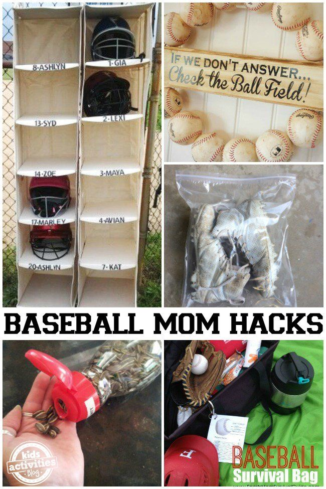 Photo of Baseball Mom Hacks