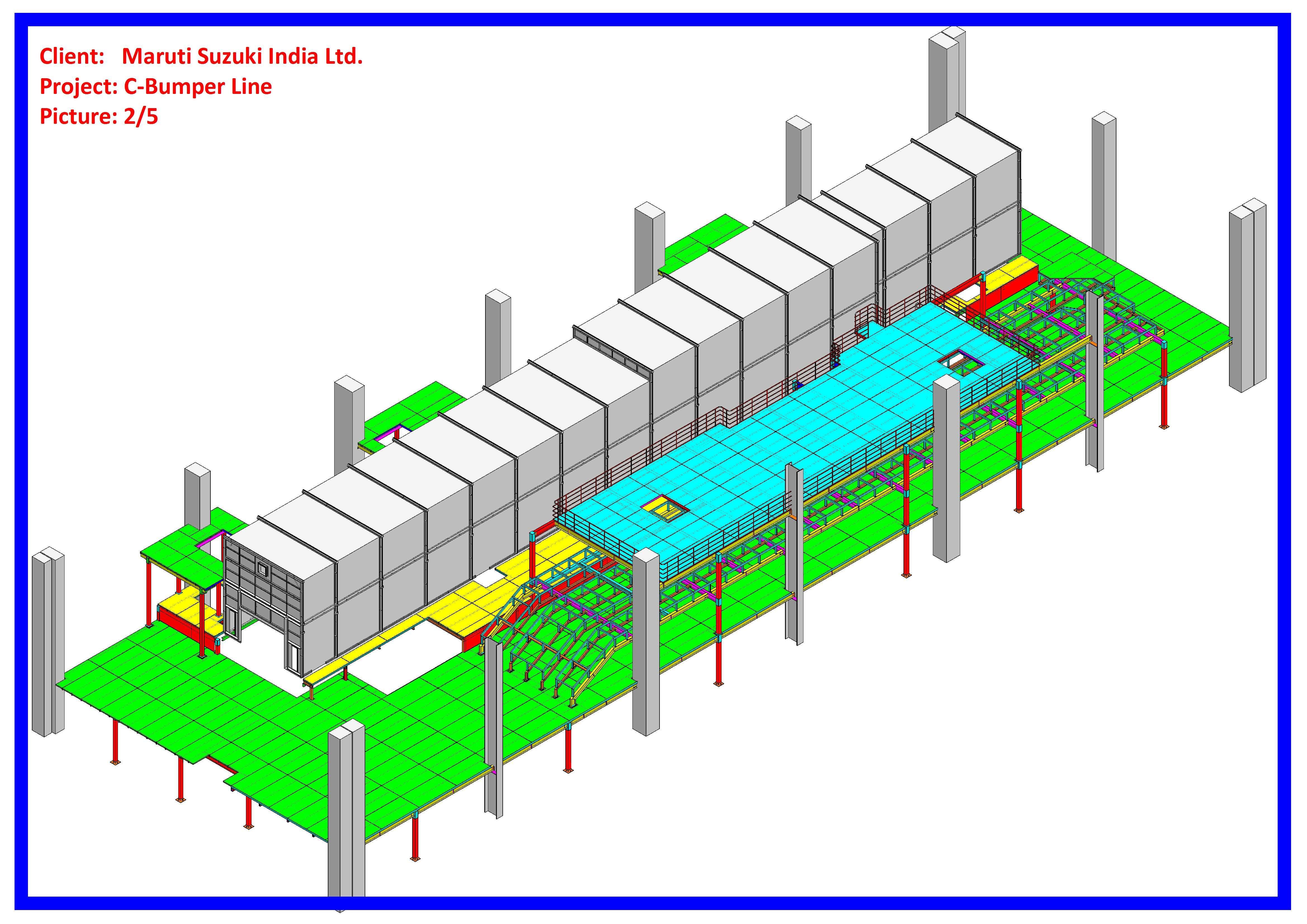 Car Manufacturing Plant Taikisha Engineering India Ltd