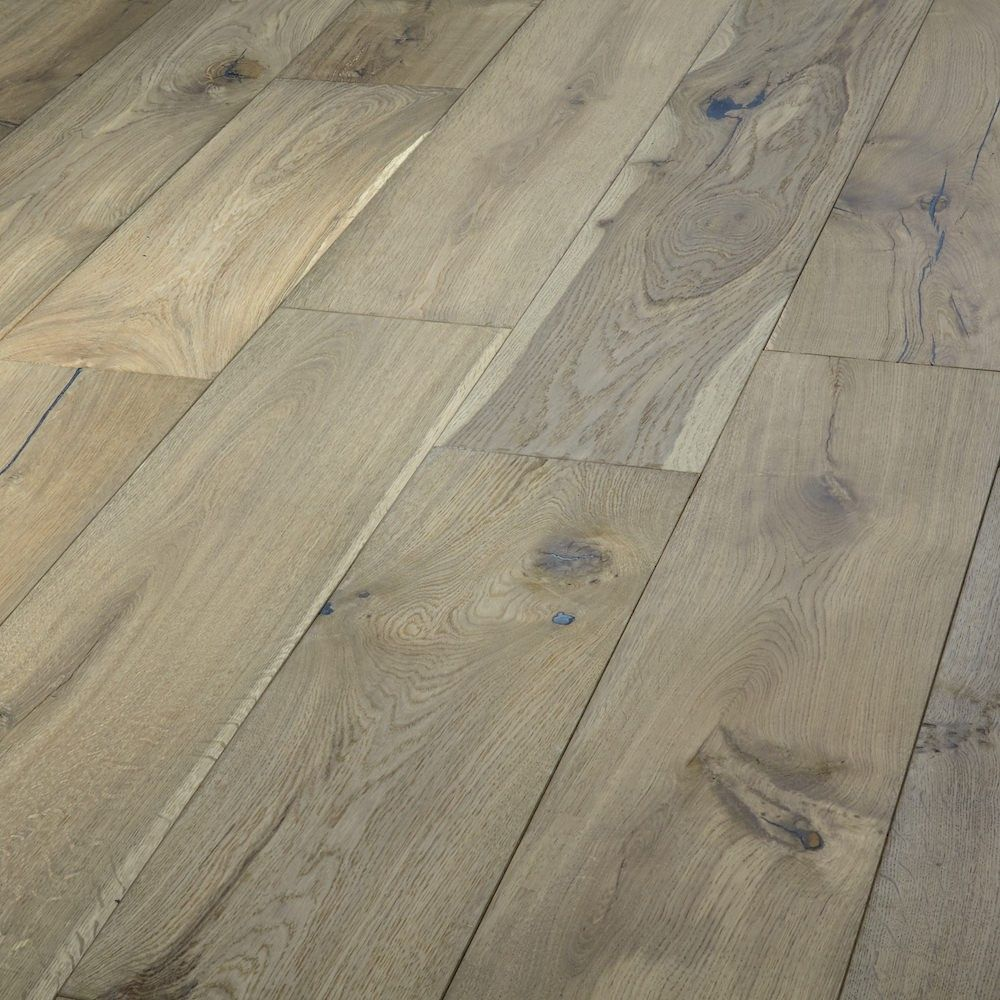 Weathered bavarian oak engineered wood flooring sliding for Engineered oak flooring