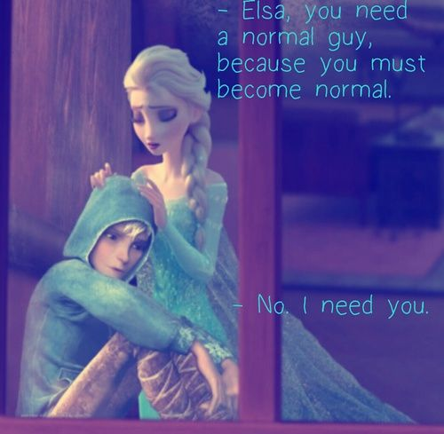 Frozen Jack Frost And Elsa Image With Images Jack Frost And