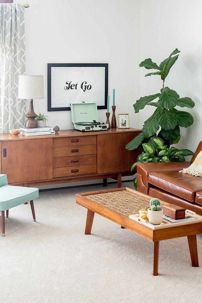 Mid Century Living Room Decor