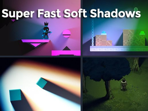 SF Soft Shadow 2D #tCubedLibrary | Unity Game Assets | Asset store