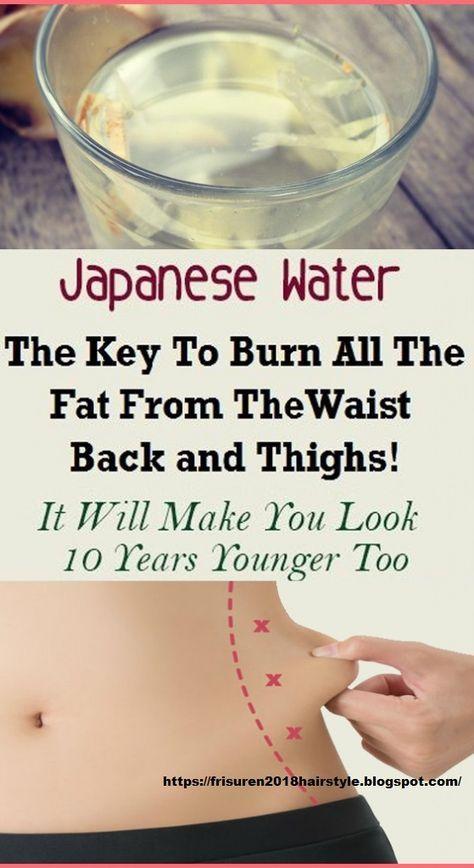 Stile di vita sano: acqua giapponese: la chiave per bruciare tutto il grasso dalla vita, …