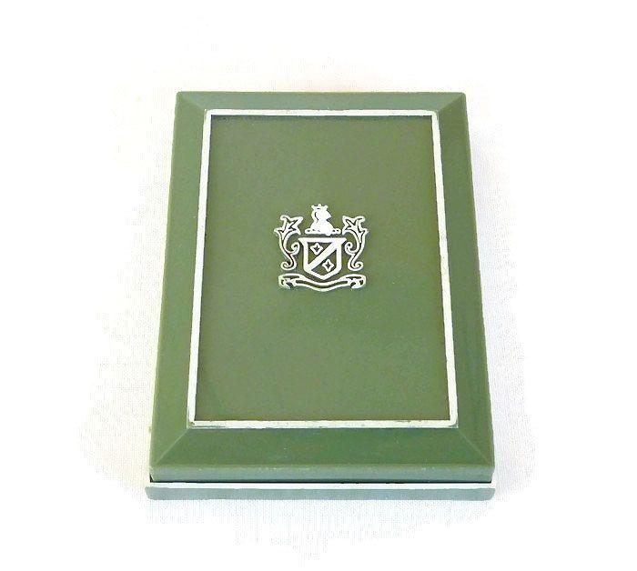 Alsten Jewelry Box Celluloid Plastic Trinket Box Made in USA