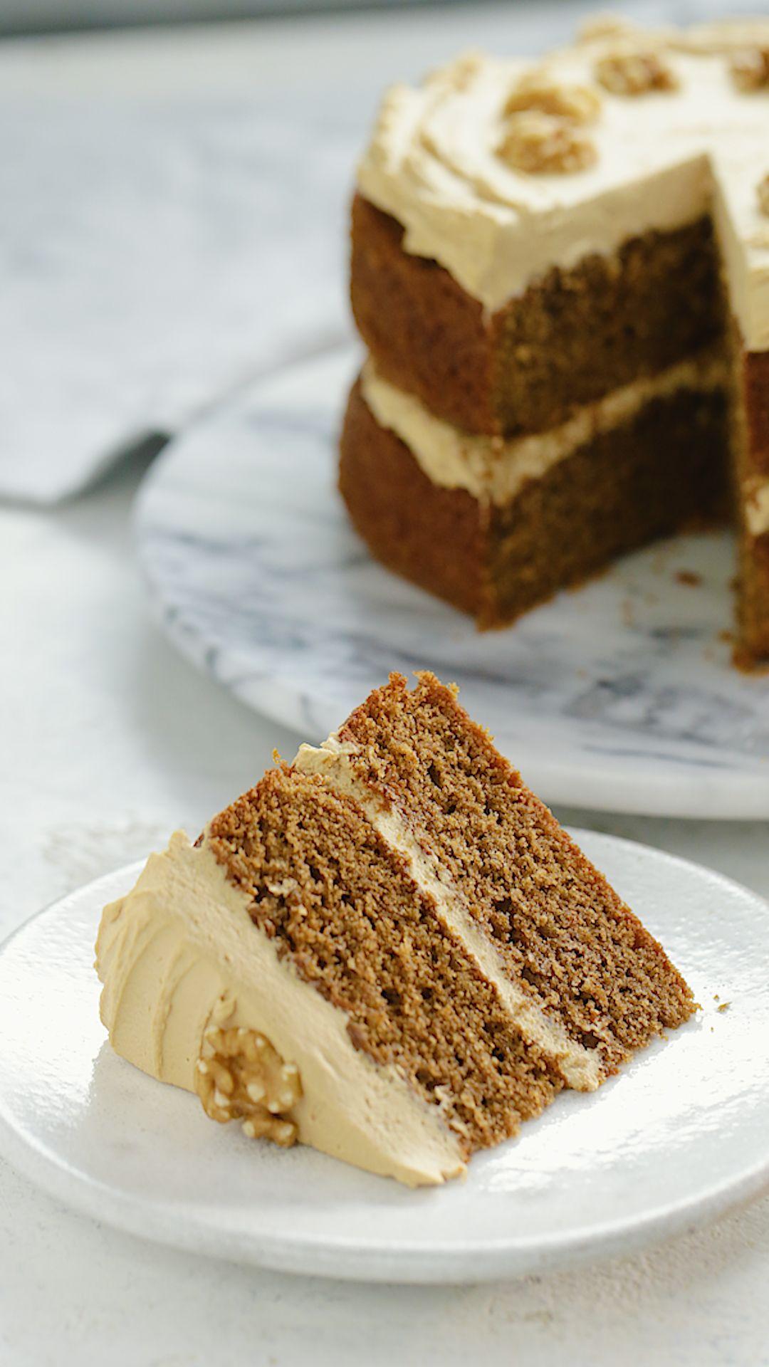 Classic Coffee Cake ~ Recipe