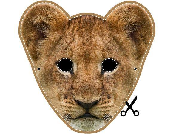 Nat Geo Kids  Lion Cub Mask  MontessoriAfrica  Pinterest