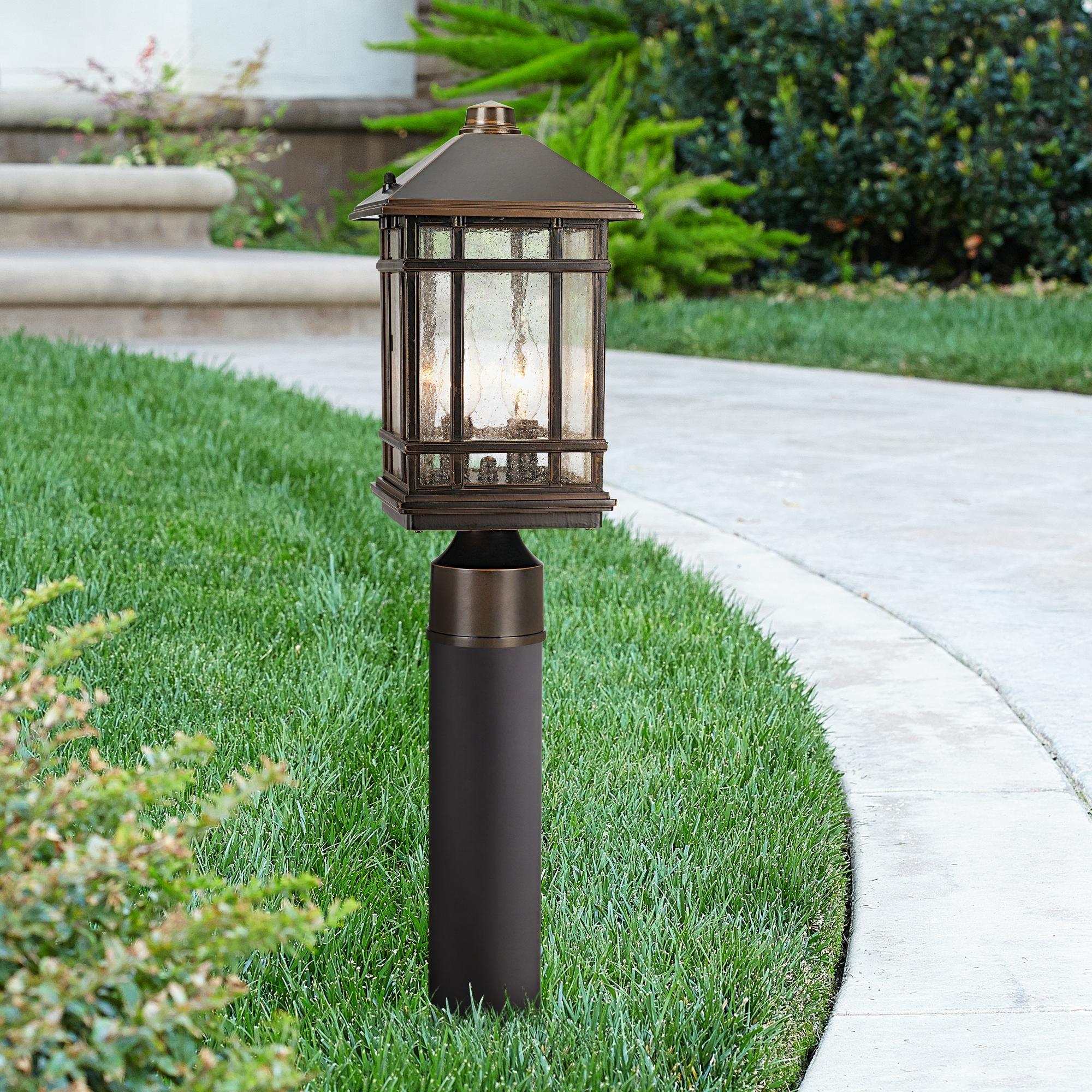 J Du J Sierra Craftsman 26 Inchh Path Light W Low Voltage
