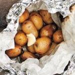 Beer-Steamed Potato Hobo Pack