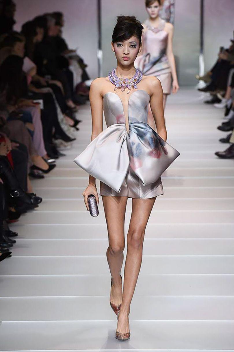 Armani privé springsummer couture collection couture