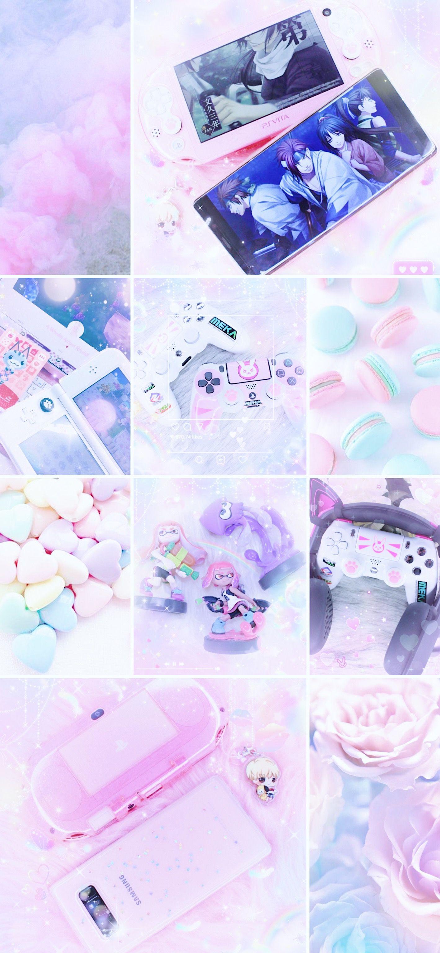 Gamer Girl Aesthetic Cute Tumblr Wallpaper Iphone Wallpaper Teenage Cute Wallpapers