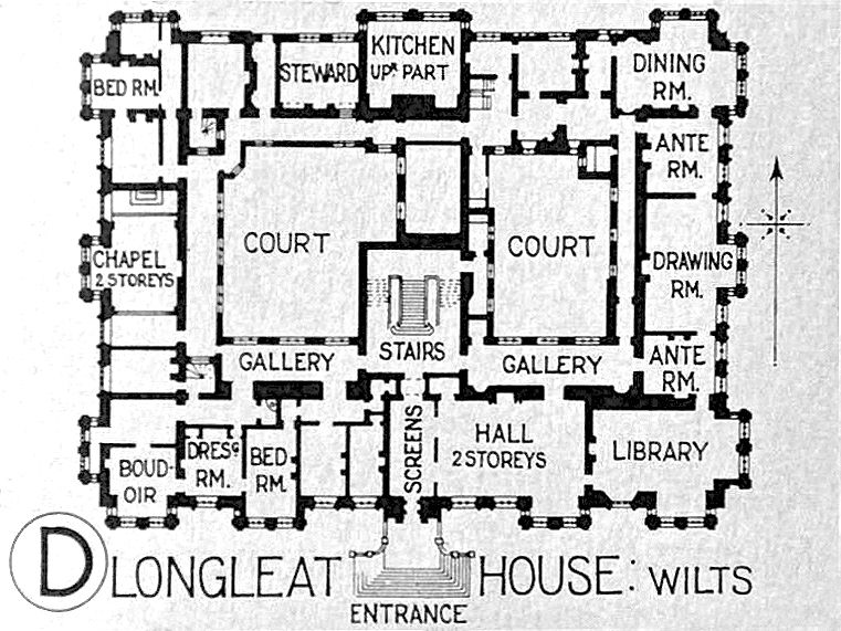 Longleat House Mansion Plans Mansion Floor Plan Sims House Plans