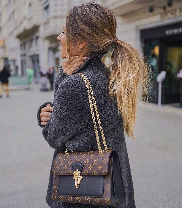 d533b160899 Bags Louis Vuitton LV black Logo