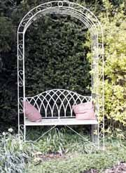 High Quality Belmont Garden Seat With Arch