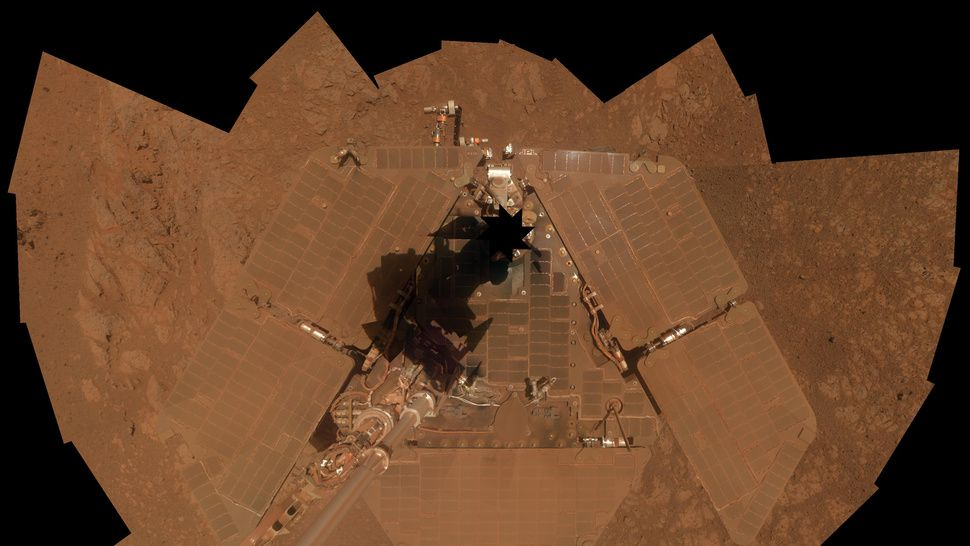 What a Rover Looks Like After a Decade on Mars Nasa