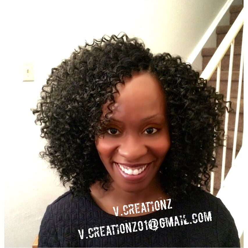 Freetress water wave Braided hairstyles, Crochet braids