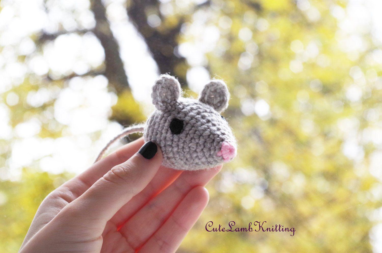 Amigurumi Mouse Pattern Crochet : Crochet pattern amigurumi mouse toy crochet amigurumi pattern cute