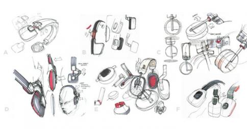 Phiaton Headphone and Ear bud Product Sketches | www.phiaton.com