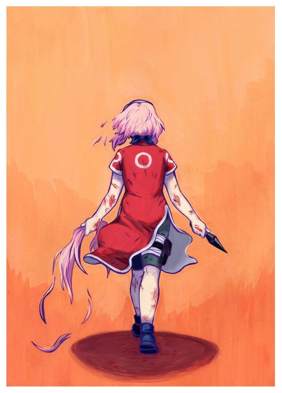 I'm Jen Sakura haruno, Anime naruto, Anime