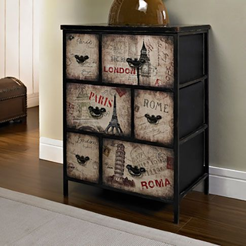 International 6-Drawer Accent Chest - Grand Home Furnishings | 0225548