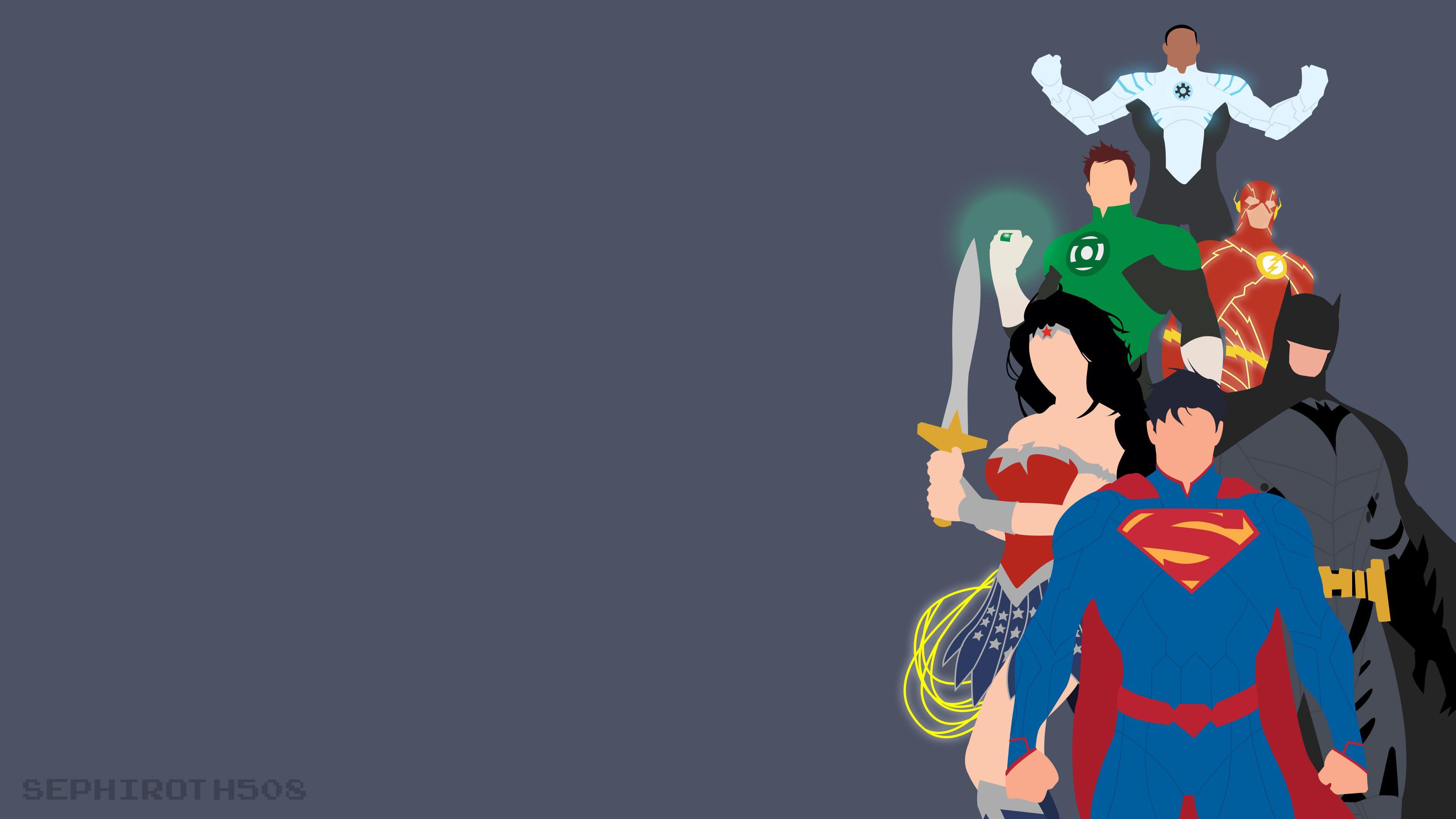 Justice League Minimalist Wonder Woman Wallpapers Superman Wallpapers Minimalism Wallpapers Justice League W Batman Wallpaper Justice League Flash Wallpaper