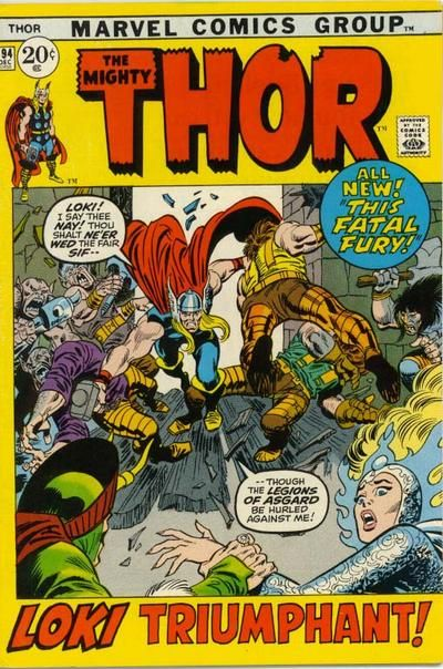 The Steve Does Comics blog takes a look at what our favourite Marvel heroes were up to in December 1971: http://stevedoescomics.blogspot.co.uk/2011/12/40-years-ago-today-december-1971.html#  Thor #194. Can Thor stop Loki from marrying Sif? #Thor #Loki #Sif